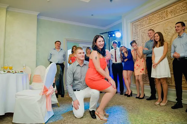 Старый свадебный конкурс