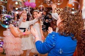 Мыльные пузыри - детская радость