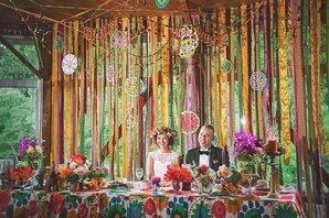 Типичная свадьба Бохо