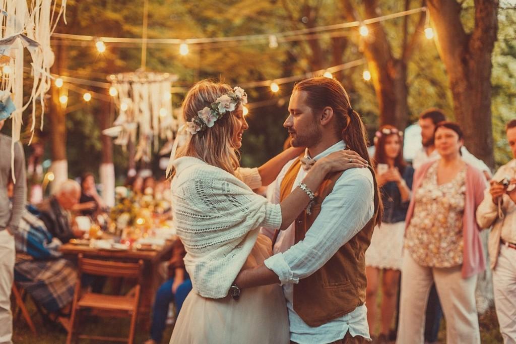 Свадьба в стиле Бохо от КГрупп