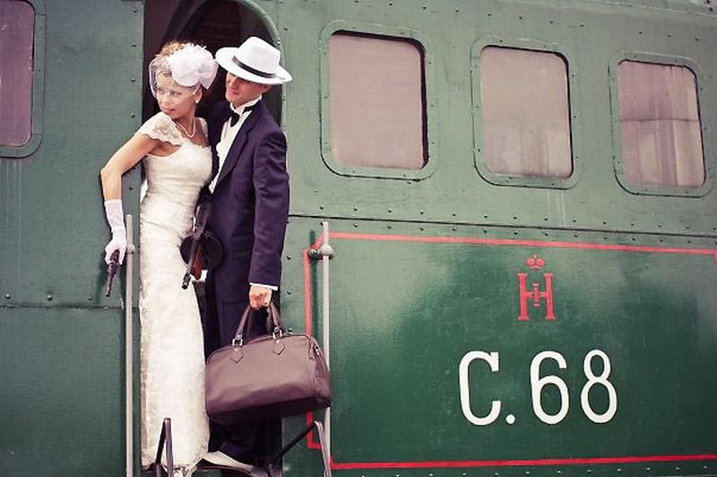 Свадьба в стиле Ретро от КГрупп