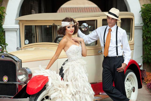 Свадьба в стиле Гетсби от КГрупп