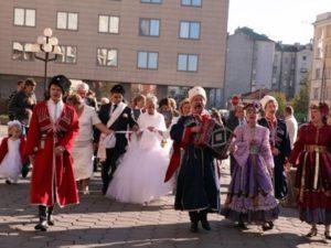 Свадьба с казаками