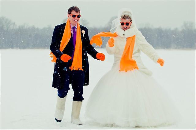 Свадьба зимой с Кгрупп