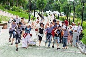 Гости пиратской свадьбы