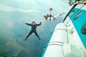 Прыжок жениха и невесты