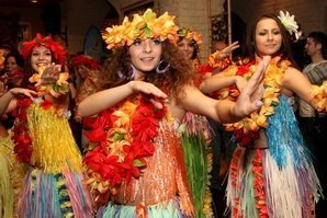 Гавайская тематика мероприятия
