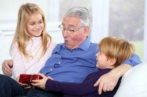 Подарок от внуков любимому дедушке