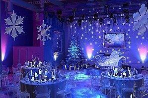 Шикарный новогодний зал