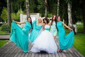 Невеста с подругам