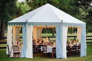 Мини-свадьба в шатре