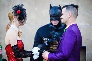 Супергеройская свадьба