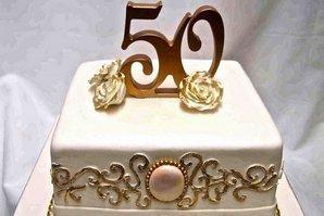 Тортик на 50-ый день варенья