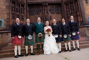 В Шотландии на церемонии