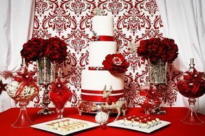Зона встречи гостей свадьбы