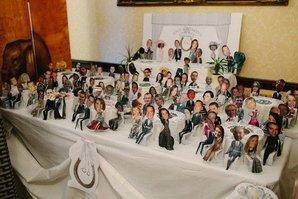 Креативная подсказка из фото гостей свадьбы