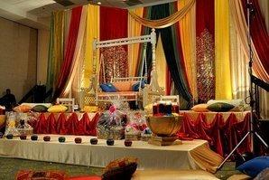 Ресторан для индийского торжества