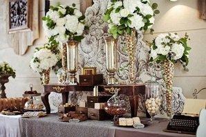 Зона сладостей на свадьбе