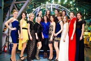 Модели на показе мод