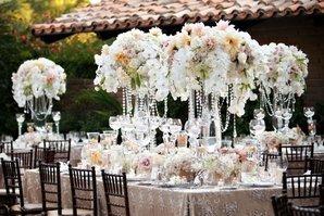 Красивый декор на свадьбу