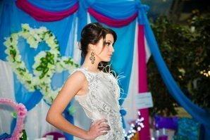Свадебные платья на показе мод