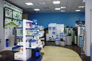 Зал продажи фильтров для воды