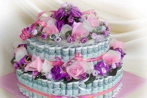 Торт из купюр