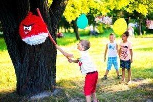 Детская праздничная забава
